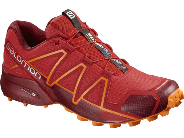 Salomon Speedcross 4 Shoes Men High Risk Red/Red Dahlia/Tangelo